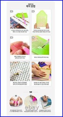 New DIY BTS Diamond Painting G1 Kit Cubic Cross-stitch Crystals Rhinestones Army