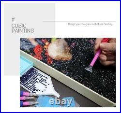 New DIY BTS Diamond Painting G2 Kit Cubic Cross-stitch Crystal Rhinestones K-pop