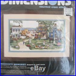 New Dimensions Mississippi Memories Counted Cross Stitch Kit 3860 Sandi Lebron