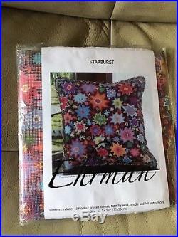 New Very Rare Ehrman Starburst Tapestry Kit By Kaffe Fassett