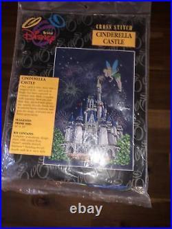 Nip Art Of Disney Cinderella Castle Cross Stitch Kit