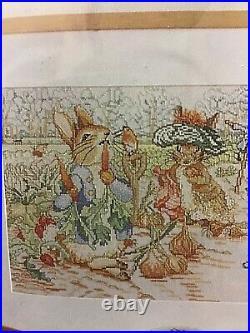 Permin of Copenhagen Beatrix Potter Character Sampler cross stitch kit 70-9420