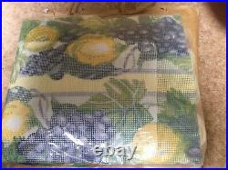 Primavera Tapestry Kit Lemons & Grapes Anchor Wool