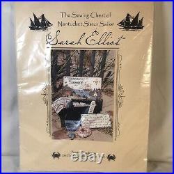 Primitive Traditions The Sewing Chest Of Nantucket Sister Sailor Sarah Elliot