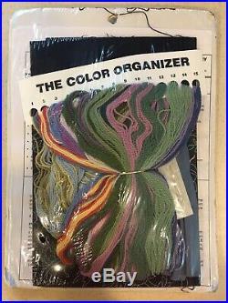 RARE Elsa Williams BLUEBIRD OF HAPPINESS Jacobean Crewel Embroidery Kit NIP