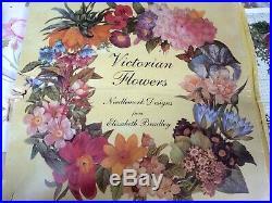 Rare 1988 Victorian Flowers Summer Tapestry Needlework Kit Elizabeth Bradley