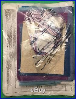 Rare Bucilla Christmas Felt Stocking Kit SNOW QUEEN FROZEN Fairy Princess 18