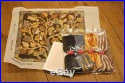 Rare Ehrman Kaffe Fassett Night Tree Needlepoint Tapestry Kit Retired Vintage