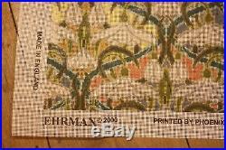 Rare Ehrman Tapestry Kit Snowdrops Raymond Honeyman Retired Art Nouveau