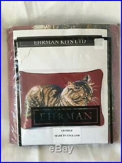 Rare Ehrman Tapestry Needlepoint Kit George by Elian McCready