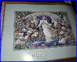 Rare Vintage Dimensions Mother Earth Cross Stitch SEALED