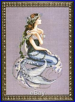 SALE! COMPLETE XSTITCH MATERIALS ENCHANTED MERMAID MD84 by Mirabilia