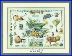 Spring in the Garden Marjolein Bastin/Lanarte Kit with27 Ct. Evenweave