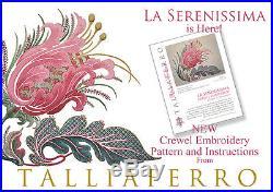 Talliaferro's La Serenissima Crewel Embroidery Kit