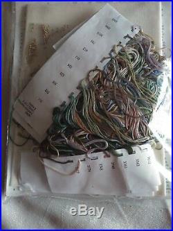 Teresa Wentzler FANTASY TRIPTYCH Counted Cross Stitch Kit Sealed RARE