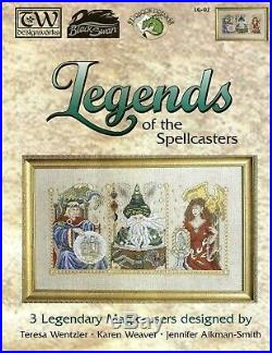 Teresa Wentzler Legends of the Spellcasters Counted Cross Stitch Kit KM