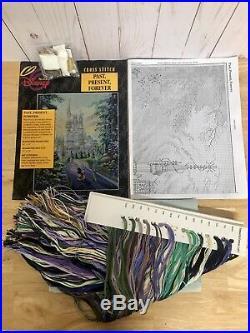 The Art Of Disney Past Present Forever Cross Stitch Kit