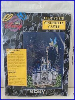 The Art Of Disney Tinker Bell Cinderella's Castle Cross Stitch Kit