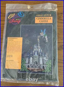The Art of Disney Cinderella Castle Cross Stitch Kit Sealed Rare OOP