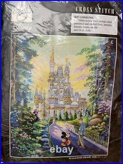 The Art of Disney Cross Stitch Kit Past, Present & Forever