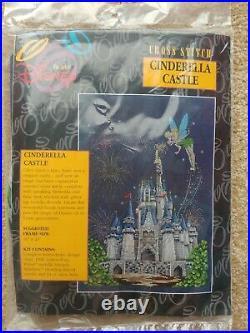 The Art of Disney Cross Stitch Tinkerbell Castle Kit