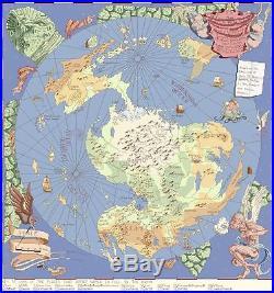 The Discworld Mappe counted cross stitch kit/chart 14s aida