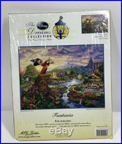 The Disney Dream Collection Fantasia kit 16 x 12 by Thomas Kinkade #52510