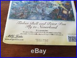 The Disney Dreams Collection Counted Cross Stitch Kit-Tinker Bell/Peter Pan-NEW