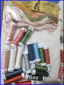 The Essamplaire HANNAH THORNBUSH 1750 COMPLETE Silk cross stitch KIT