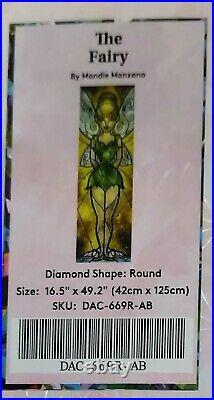 The Fairy Diamond Art Club DAC Painting Mandie Manzano Tinkerbell Sealed