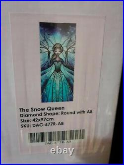 The Snow Queen Diamond Art Club New Unopened Discontinued