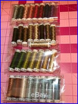 Thistle Threads Silken Tent Stitch Trinket Box complete kit