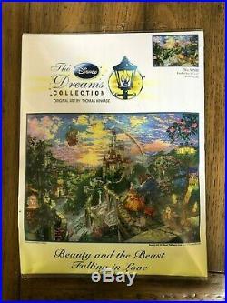 Thomas Kinkade-Disney Dreams Collection-Beauty and the Beast-Cross Stitch Kit