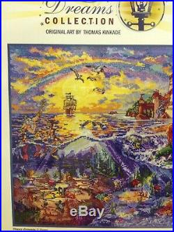 Thomas Kinkade Disney Dreams Collection The Little Mermaid Cross Stitch Kit