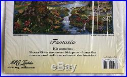 Thomas Kinkade Disney Dreams Fantasia Cross Stitch Kit 16x12 NIP