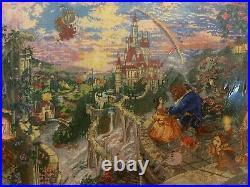 Thomas Kinkade The Disney Dreams Collection Beauty Cross Stitch 52505 16X12