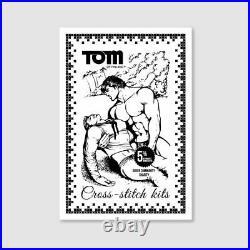 Tom of Finland Cross Stitch Kit