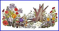VINTAGE CREWEL1975 PARAGON FOREST REBORN Kit HUGE