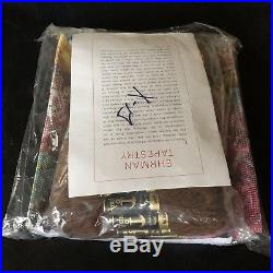 Vintage Ehrman AUTUMN ROSES Needlepoint Tapestry Pillow Cushion Cover Kit New