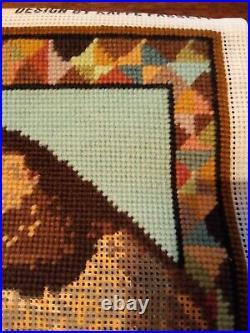 Vintage Ehrman Kaffe Fassett'Carpet Cat' Tapestry Kit
