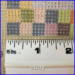 Vintage Ehrman Kaffe Fassett Needlepoint Tapestry Kit LEAVES CUSHION Retired'97
